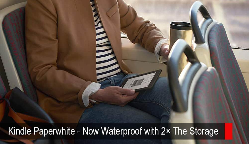 Kindle Paperwhite –2倍のストレージで防水になりました