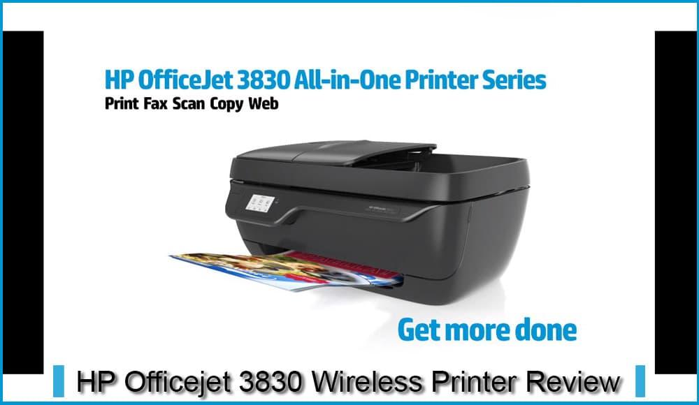 HP Officejet3830ワイヤレスプリンターレビュー