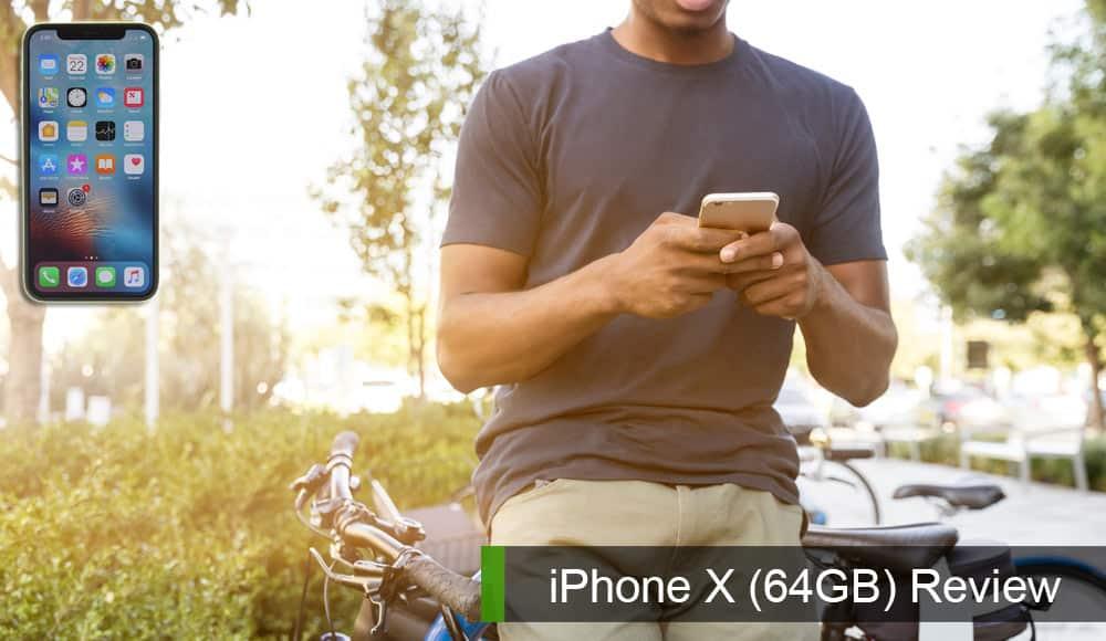 iPhone X(64GB)レビュー