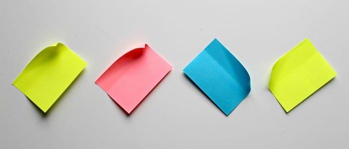 Outlook:消去された付箋を回復する