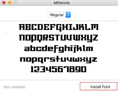 macOSからフォントを追加または削除する方法