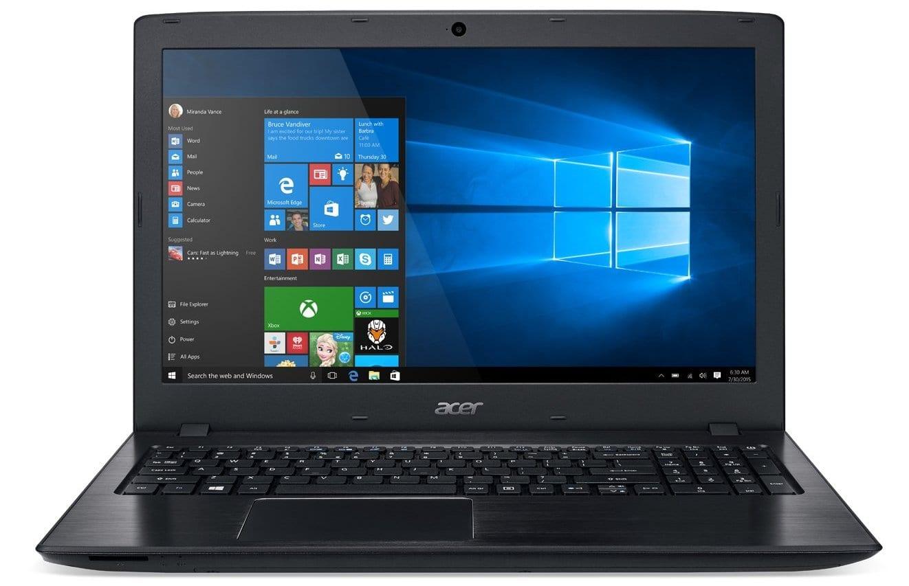 Acer Aspire E15の新機能