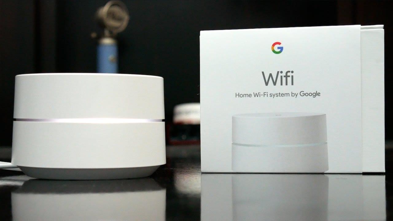 GoogleWi-Fiホームシステムの概要