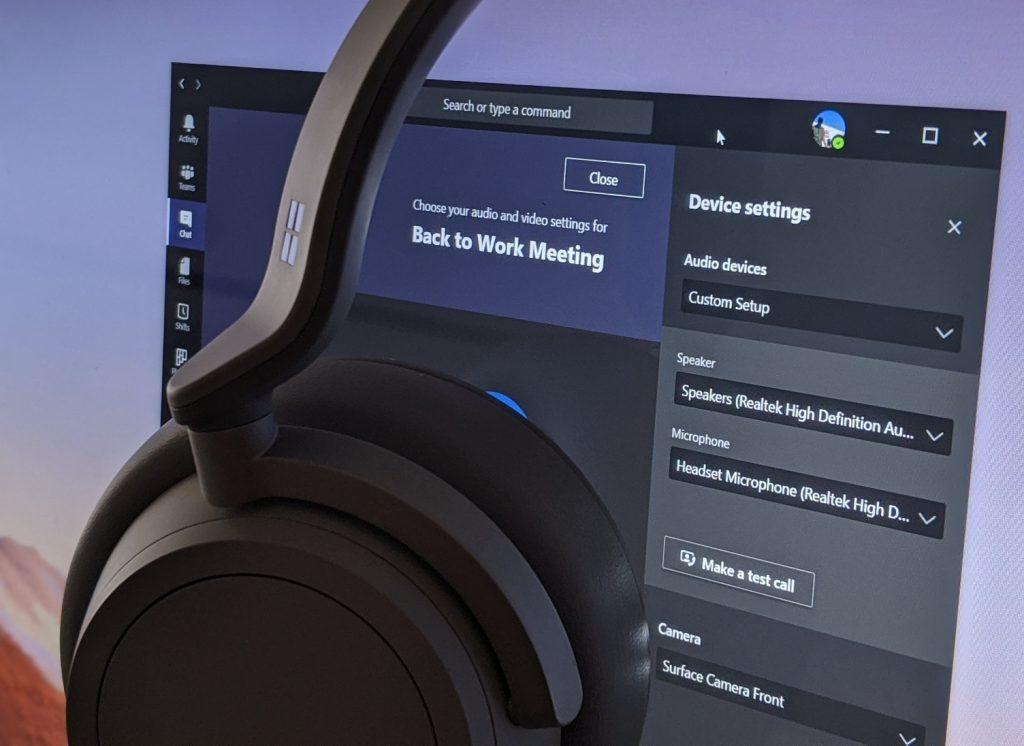 Microsoft Teamsでカスタムのビデオ、スピーカー、およびオーディオのセットアップを作成する方法