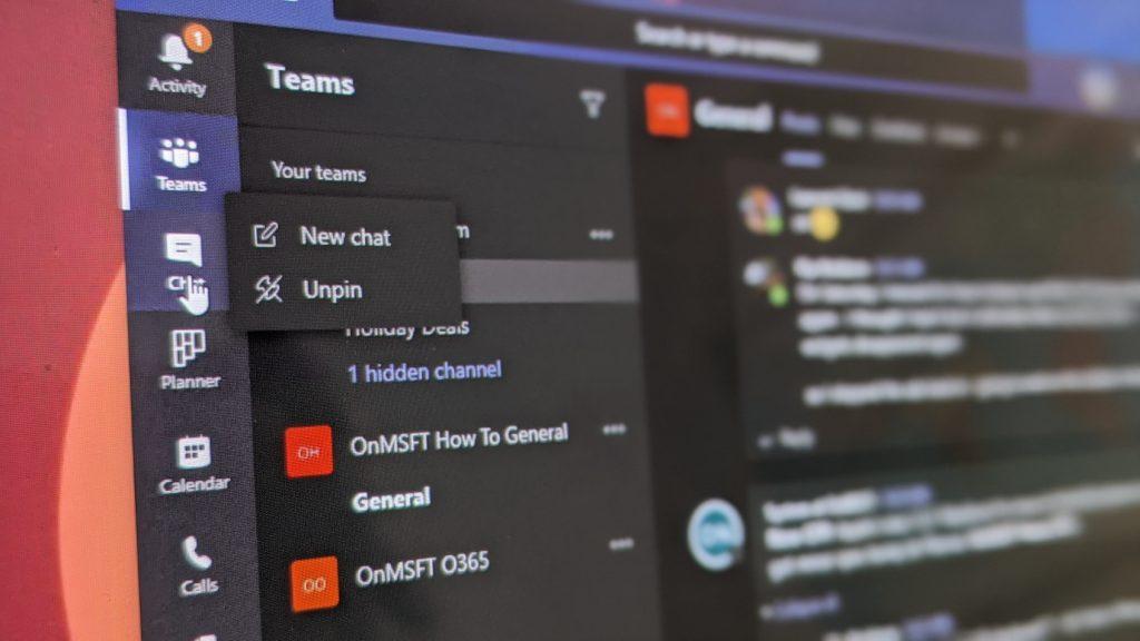วิธีจัดเรียงรายการและหมุดใหม่ในแถบด้านข้างของ Microsoft Team เพื่อให้มีลักษณะที่กำหนดเองมากขึ้น