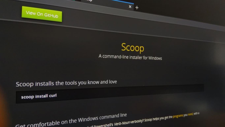 Cách cài đặt trình quản lý gói Scoop trong Windows 10