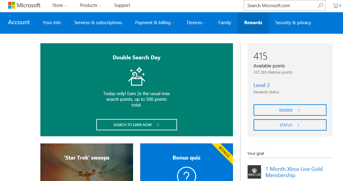 Microsoft Rewards 포인트를 적립 및 저장하는 방법(그리고 기분 좋게 사용)