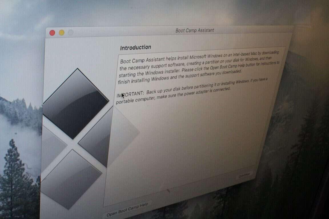 Cách chạy và cài đặt Windows qua Boot Camp trên OSX