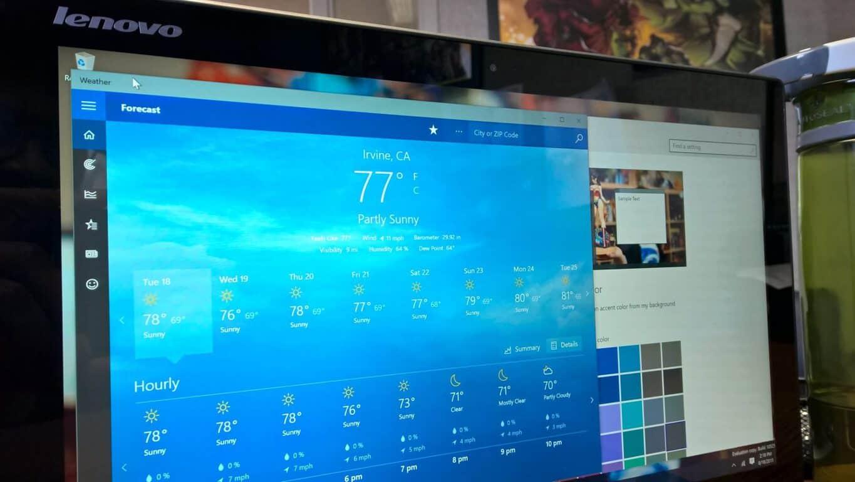 วิธีเปลี่ยนสีแถบชื่อเรื่องใน Windows 10 build 10525