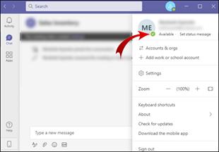 MicrosoftTeamsで時間を変更する方法
