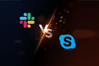 Mengapa Slack dan bukan Skype? Alasan utama untuk pilihan Anda